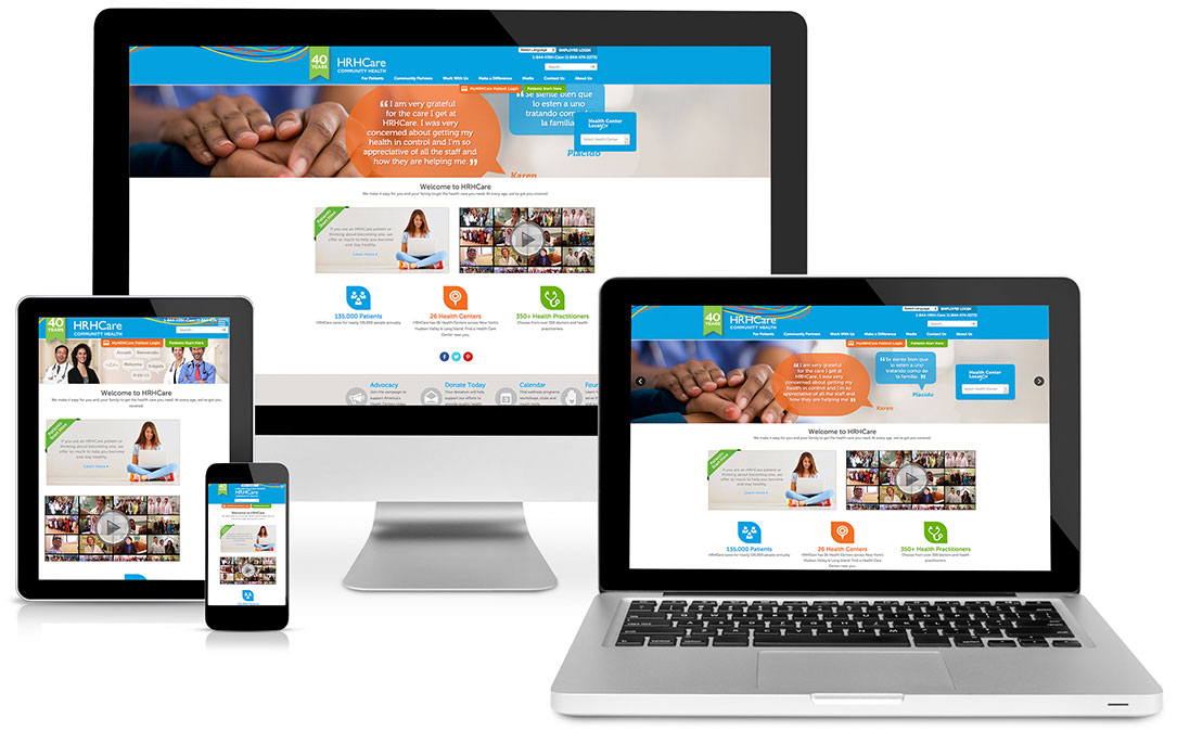 HRHCare Foundation WebSite Design